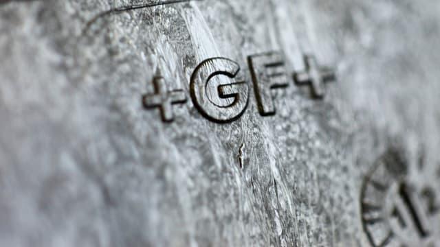Il logo da Georg Fischer da strusch.
