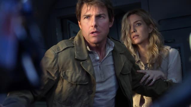 Tom Cruise und Annabelle Wallis in Action.