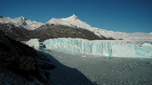 Gletscher in Patagonien.