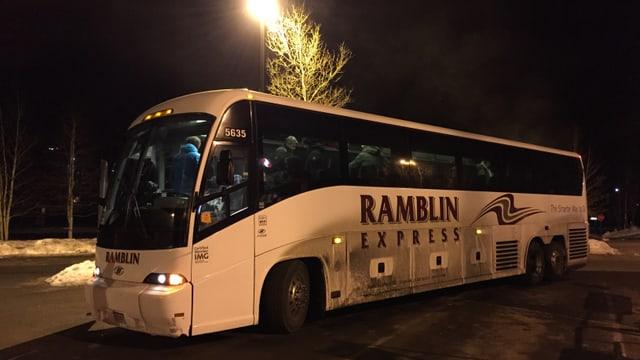 Fotografia dal bus che ha transportà noss reporters da Denver a Beaver Creek.