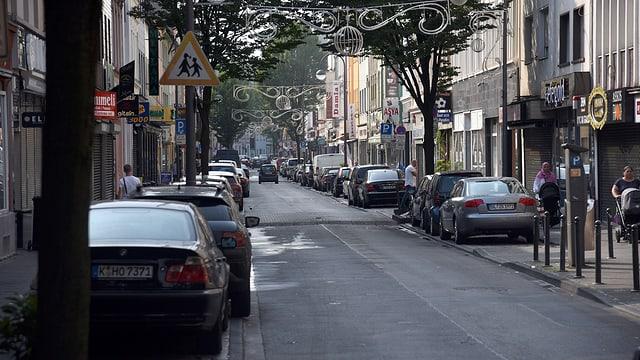 In der Keupstraße in Köln verübte der NSU 2004 einen Anschlag mit einer Nagelbombe. Mehr als 20 Menschen wurden verletzt.