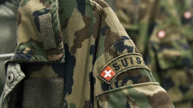 Mondura da l'armada svizra.