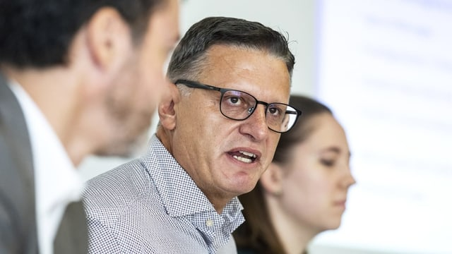 Petrit Alimi, Präsident der Islamische Gemeinde Luzern.