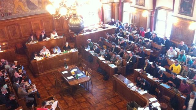 Das Zürcher Kantonsparlament
