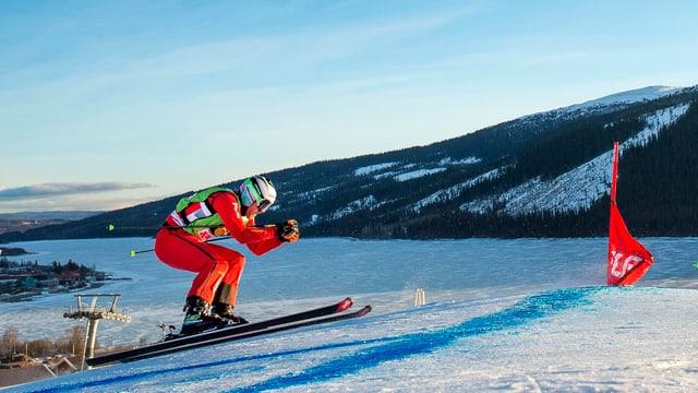 Alex Fiva ha gudagnà la cursa da skicross a Mals.