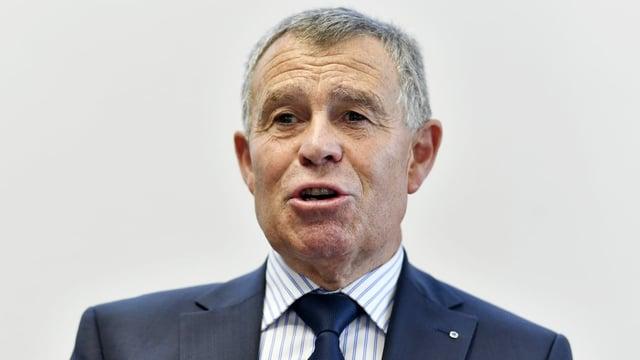 Der Präsident der Finanzdirektorenkonferenz, der Zürcher SVP-Regierungsrat Ernst Stocker.