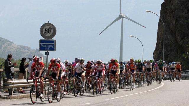 Auch die Romandie-Tour 2013 führt durch Martigny.