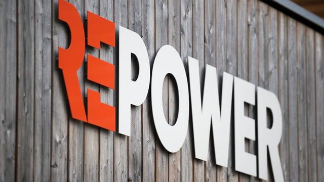 Il logo da la Repower vi di'ina paraid da lain.