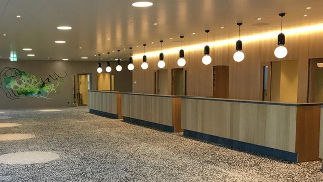 Neuer Eingangsbereich Spital