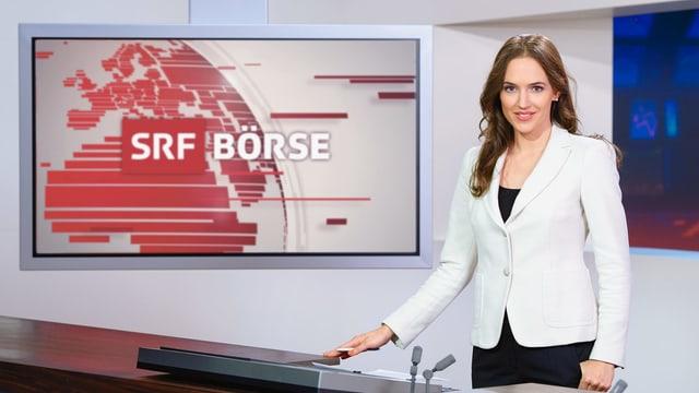 Patrizia Laeri, Moderatorin «SRF Börse»