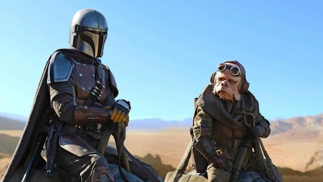 «Star Wars» auf dem kleinen Bildschirm: «The Mandalorian» wird auch bei uns wöchentlich gezeigt.