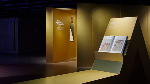 Wechselausstellung über historische Wertpapiere