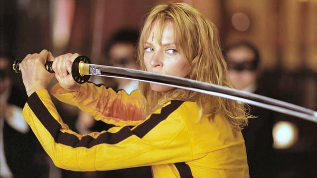 Uma Thurman in «Kill Bill».