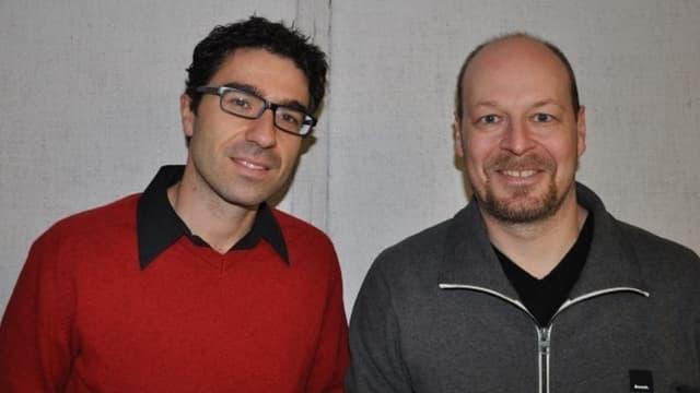 Martin Camenisch e Manfred Veraguth