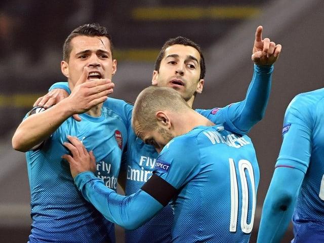 Die «Gunners» um Granit Xhaka kriegen es mit ZSKA Moskau zu tun.