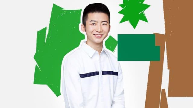 Ein junger Chinese.
