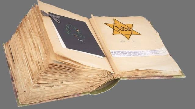 Buch mit Judenstern