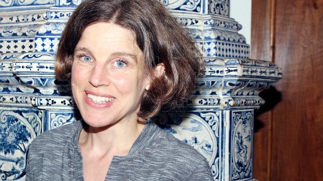 Sabine Graf, neue Leiterin des Literaturhauses Zentralschweiz.