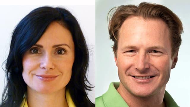 Dr. Marjana Dolic und Dr. Felix Naef