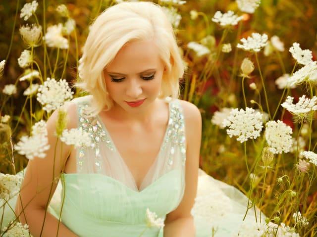 Helles Haar und eine noch hellere Stimme: YouTube-Star Madilyn Bailey.