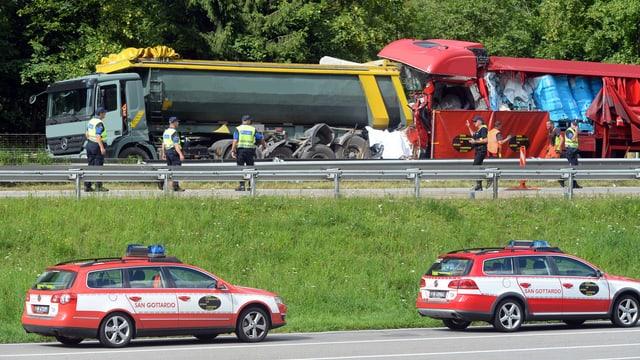 Der tödliche Unfall 2016.