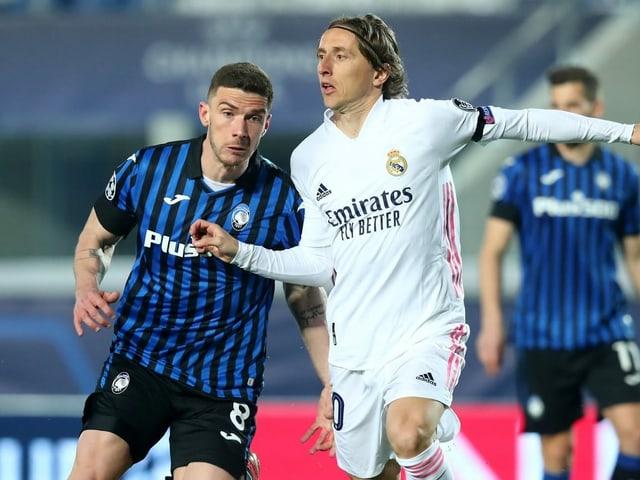 Real empfängt Atalanta am Dienstag in Madrid.