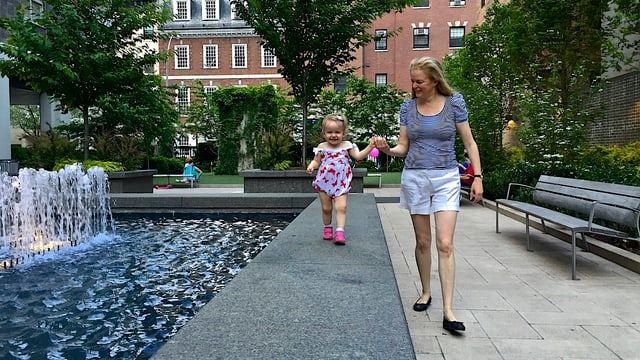 Christina Gross mit ihrer Tochter Lena