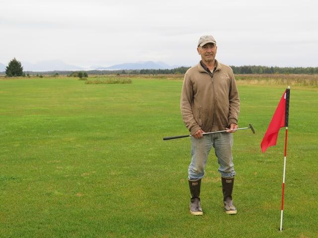 Golfplatzbesitzer Morgan Deboer.