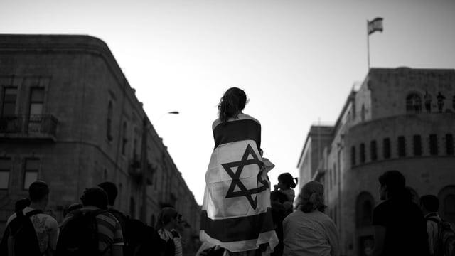 bandiera da Jerusalem.