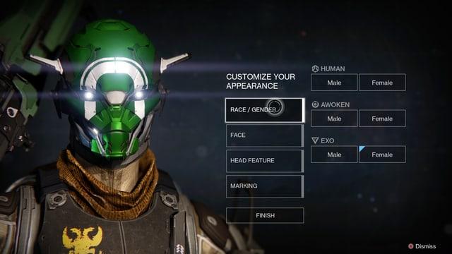 Das Portrait der Spielfigur