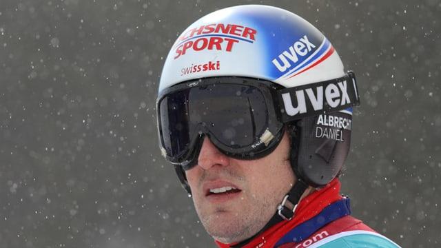 Daniel Albrecht ist zurück in der Schweiz.