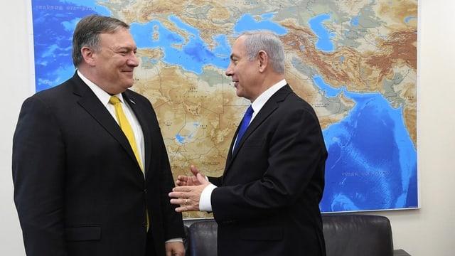 Pompeo und Netanjahu