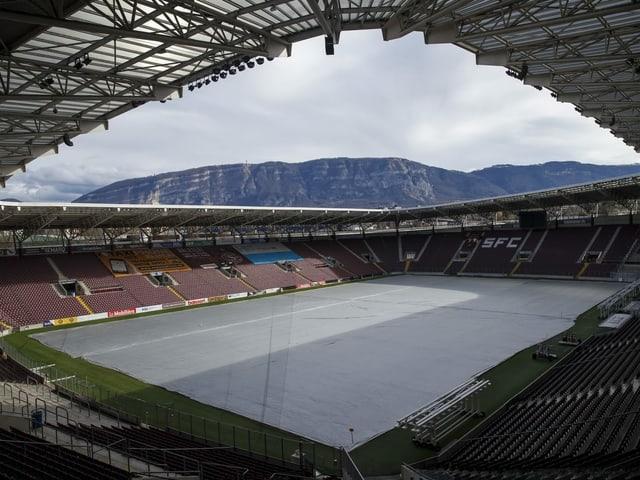 Blick in das Stade de Genève.