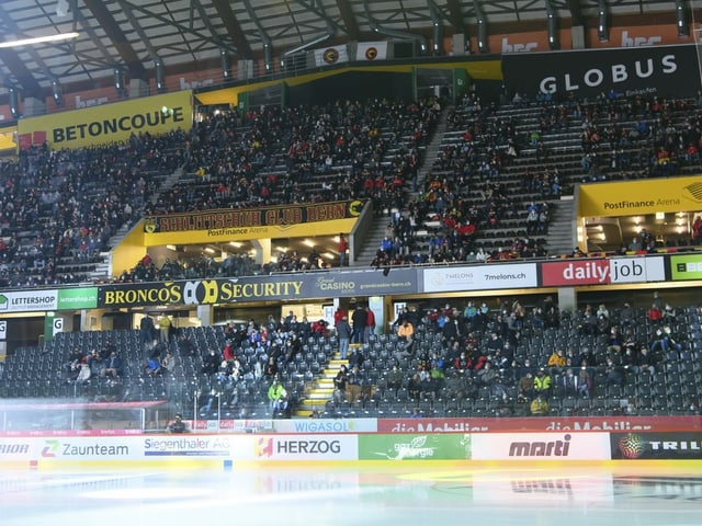 Das Stadion des SC Bern.