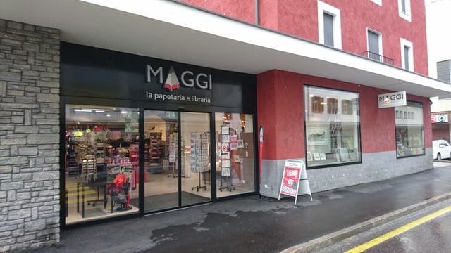 La papetaria Maggi a Glion.