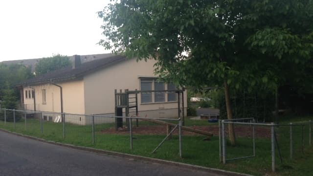 Der bestehende Kindergarten Binzenhof