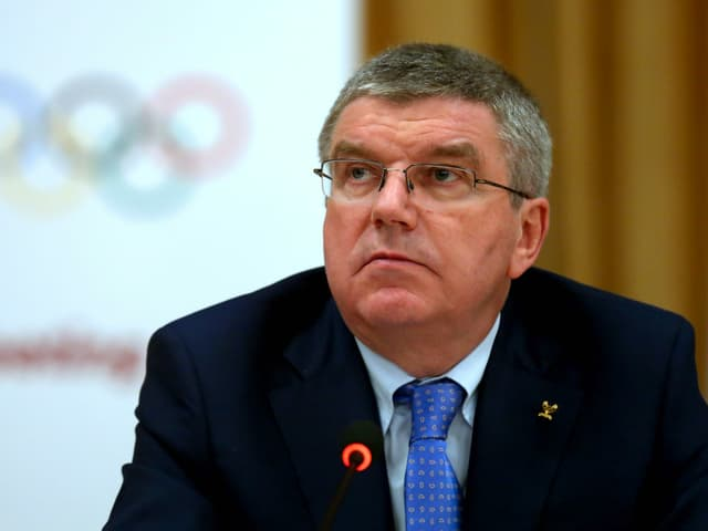 IOC-Präsident Thomas Bach.