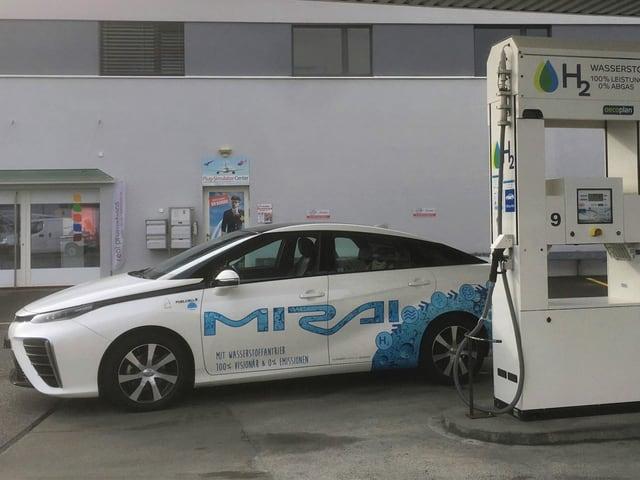 Wasserstoff-Tankstellen im aargauischen Hunzenschwil
