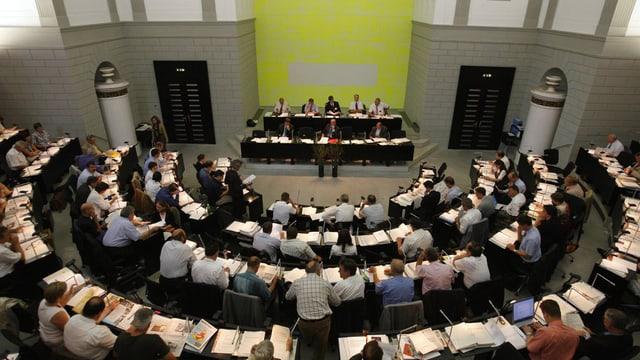 Die Debatte im Luzerner Kantonsrat läuft.