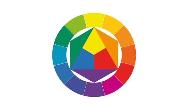 Ein Kreis mit 12 Farbfeldern.