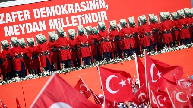 Türkei-Fahnen