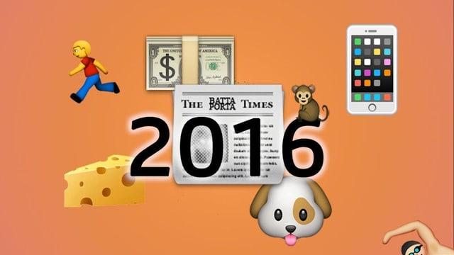 2016 en Emojis