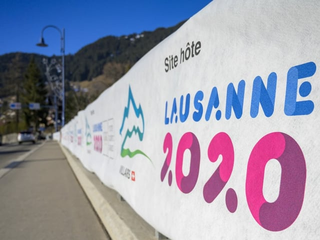 In Lausanne werden die Youth Olympic Games 2020 ausgetragen.