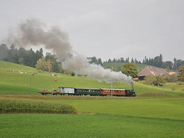 Dampfzug Emmentalbahn