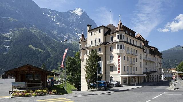 Dem Hotel Regina sieht man nicht auf den ersten Blick an, dass es leersteht.