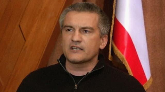 Krim-Regierungschef Sergej Aksjonow