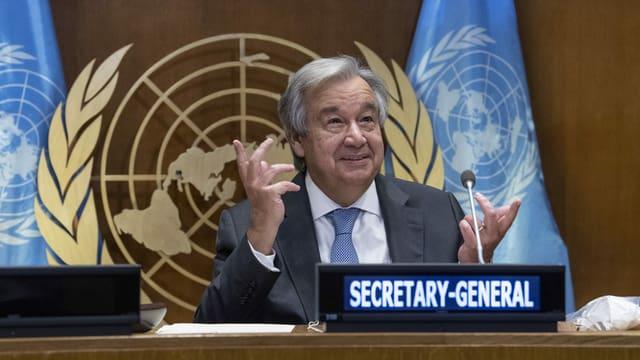 UNO-Generalsekretär António Guterres