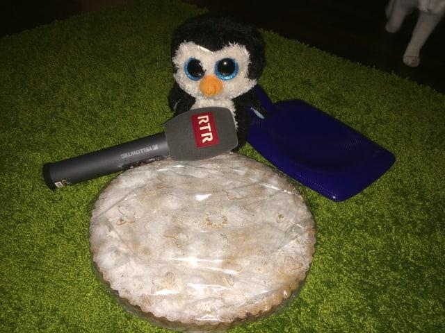Turta da nusch, pingu e microfon RTR