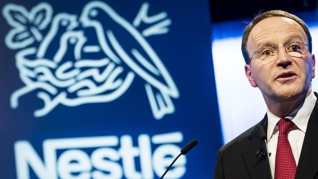 Mark Schneider, der Chef von Nestlé, verkauft die einen Bereich des Unternehmens.
