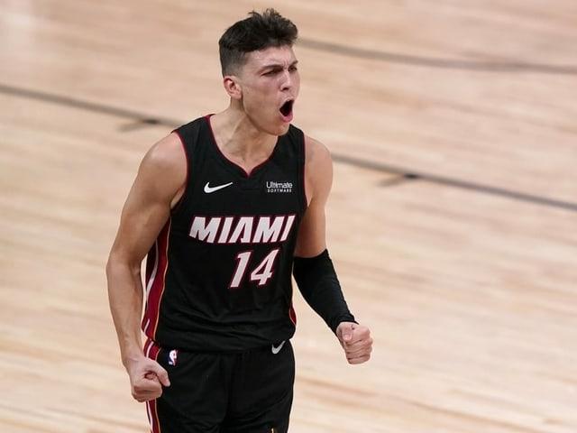 Tyler Herro von den Miami Heat